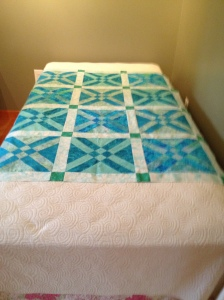 """My """"almost"""" done quilt"""