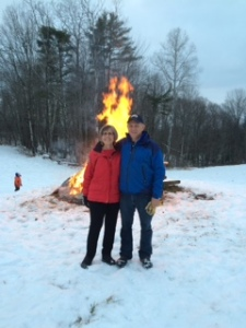 Christmas Bonfire